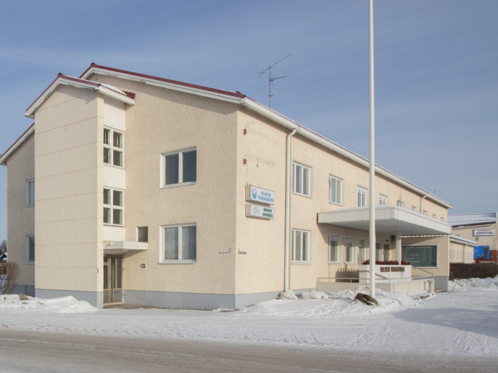 Oulaisten virastotalo | PS-kiinteistöt